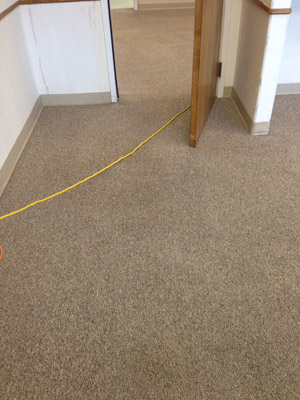 Commercial Carpet Cleaning - After