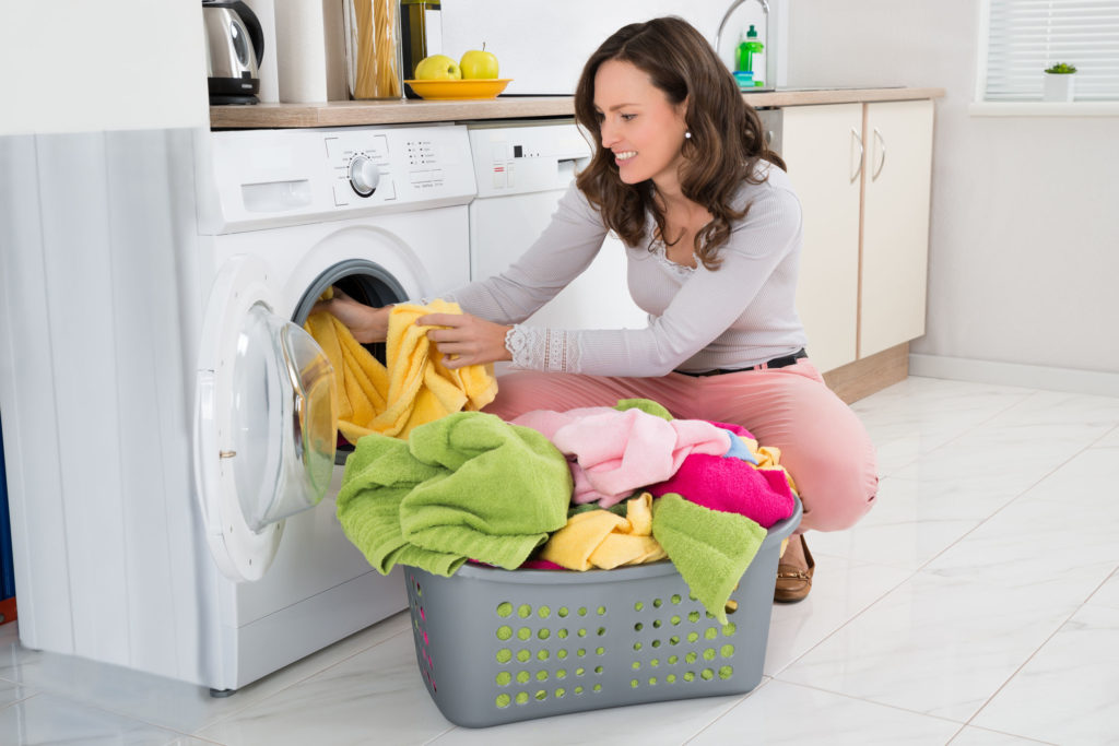 Fast dry clean clothes