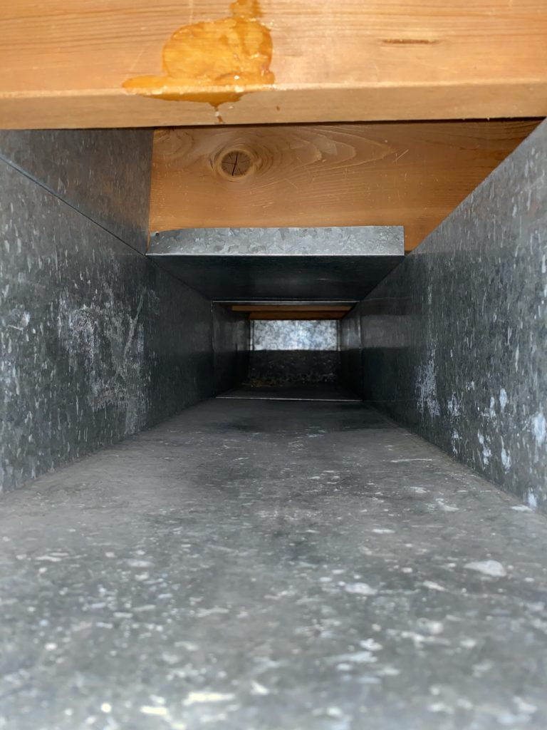 After cleaned Air Duct